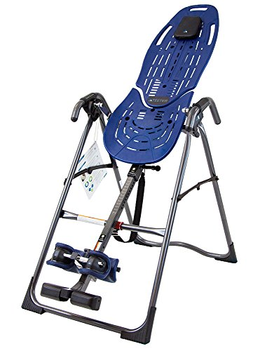 Image of the Teeter EP-560 FDA-Cleared Inversion Table for back pain relief, 3rd-Party Safety Certified, Precision Engineering