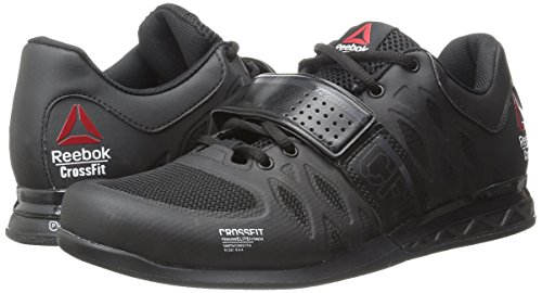 Image of the Reebok Men's Crossfit Lifter 2.0 Training Shoe, Black/Coal, 9.5 M US