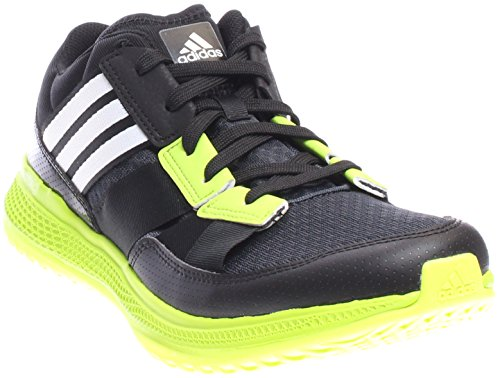 Image of the adidas Originals Men's ZG Bounce Cross-Trainer Shoe, Dark Grey/White/Semi Solar Slime, 10.5 M US