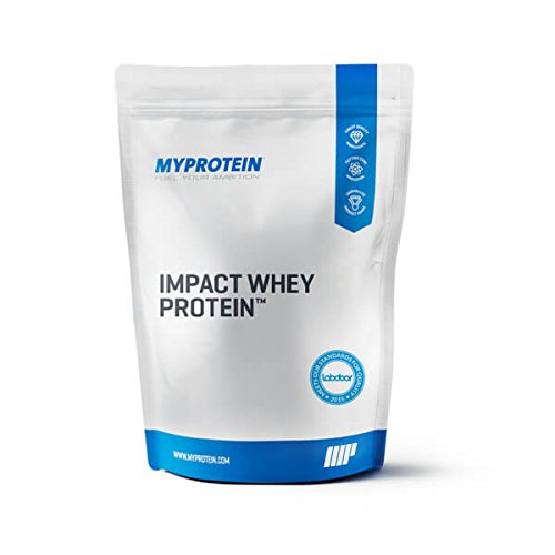 Image of the Myprotein Impact Whey Protein Blend, Vanilla, 2.2 lbs (40 Servings)
