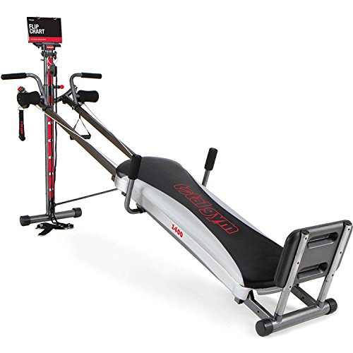 Image of the Total Gym 1400 Deluxe Home Fitness Exercise Machine Equipment with Workout DVD