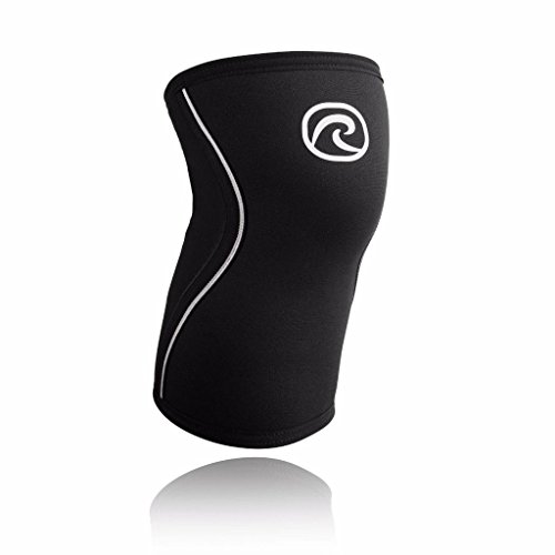 Image of the Rehband Rx Knee Support, 5mm, Black, Medium