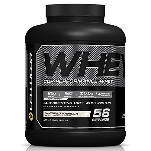 Image of the Cellucor Cor-Performance 100% Whey Protein Powder with Whey Isolate, Whipped Vanilla/G4, 4 Pound by Cellucor