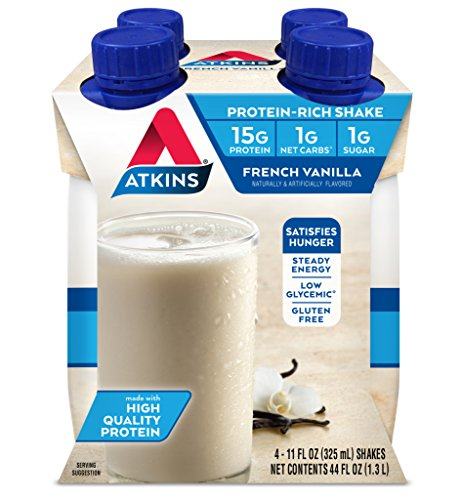 Image of the Atkins Ready To Drink Shake, French Vanilla, 4 Count