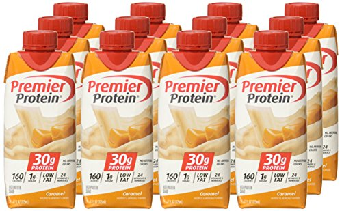 Image of the Premier Protein 30g Protein Shake, Caramel, 12 Count