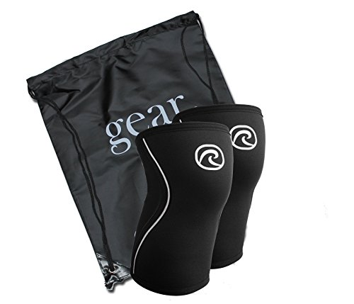 Picture of a pair of rehband rx knee compression sleaves