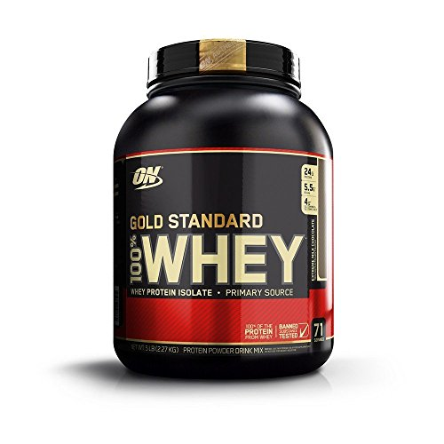 Image of the Optimum Nutrition Gold Standard 100% Whey Protein Powder, Extreme Milk Chocolate, 5 Pound