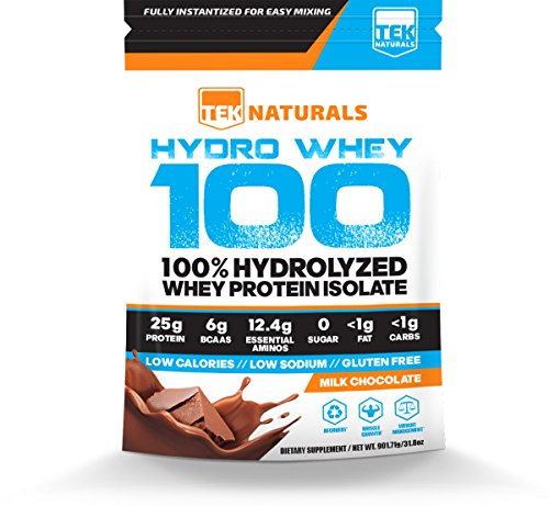 "Image of the Hydro Whey 100â""¢ (Chocolate) - 100% Whey Protein Hydrolysate Powder - 30 Day Supply - BEST Tasting"