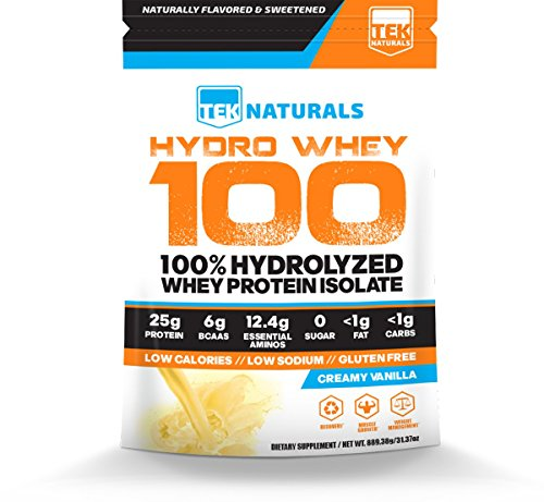Package of Hydro Whey 100 powder