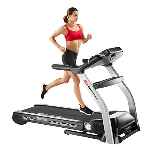 girl running on a bowflex bxt216 treadmill