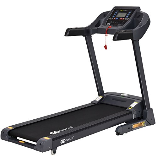 Image of the Gymax Cardio Folding Exercise Treadmill Fitness Electric Motorized Running Machine Treadmill w/ Incline Home Gym (New Model)