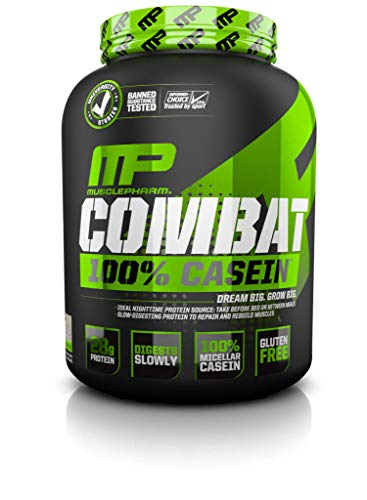 Image of the MusclePharm Combat Casein Supplement, Vanilla, 4 Pound
