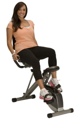 Image of the Exerpeutic 400XL Folding Recumbent Bike