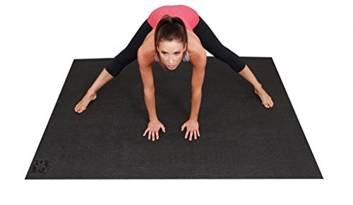 Image of the Square36 Large Yoga Mat 6 Ft x 4 Ft (72