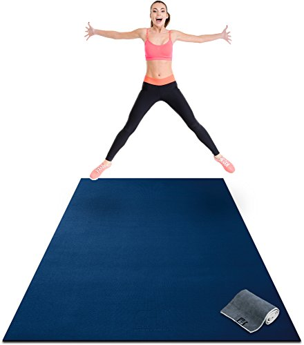 Image of the Premium Extra Large Exercise Mat - 8' x 4' x 1/4