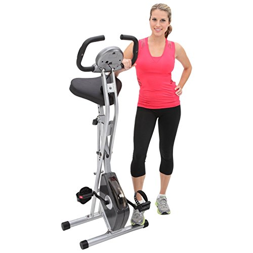 Image of the Exerpeutic Folding Magnetic Upright Bike with Pulse