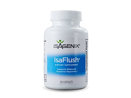 Image of the Isagenix Isaflush 60 capsules