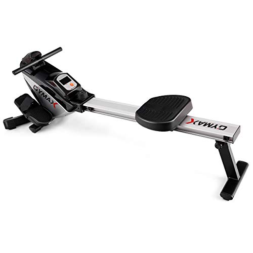 Image of the Goplus Magnetic Folding Rowing Machine Row Machine Rower Exercise Cardio Fitness Equipment W/LCD Monitor
