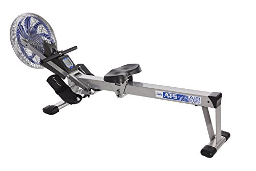 Image of the Stamina ATS Air Rower 1405 Rowing Machine | Air Resistance | LCD Fitness Monitor | Folding and Built-In Wheels