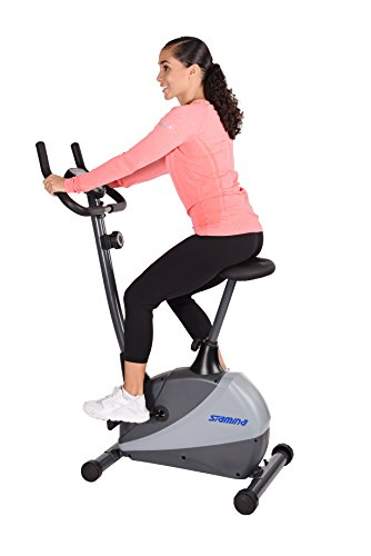 Image of the Stamina 5334 Magnetic Upright Exercise Bike