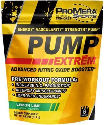 Image of the PUMP EXTREM Trial Size by ProMera Sports