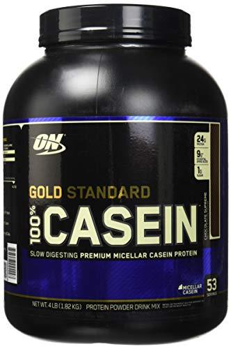 Image of the Optimum Nutrition Gold Standard 100% Casein Protein Powder, Chocolate Supreme, 4 Pound
