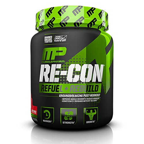 Image of the Muscle Pharm Re Con Sport, Orange Cream, 30 Servings, 2.5 Pound
