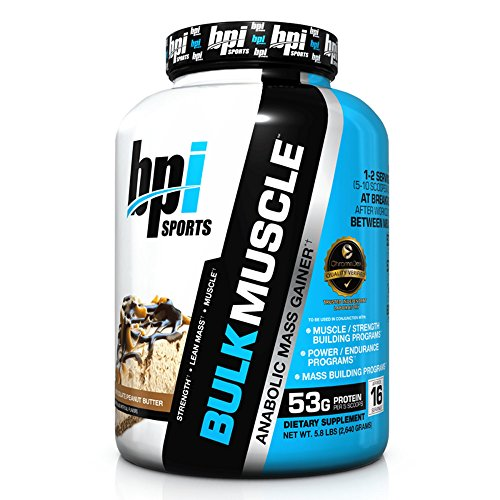Image of the BPI Sports Bulk Muscle Protein Powder, Chocolate Peanut Butter, 5.8 Pound
