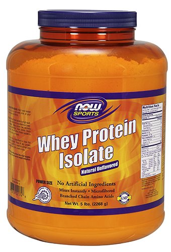 Image of the NOW Sports Whey Protein Isolate,5-Pound