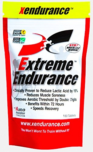 Image of the Xendurance Extreme Endurance | Reduces Lactic Acid & Muscle Soreness | 180 Tablets