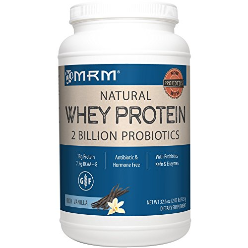 Image of the MRM - Whey Protein Powder, Maximum Muscle Growth and Development, with Essential Amino Acids (Rich Vanilla, 2 lbs)