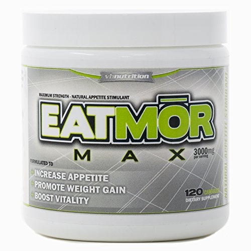 Image of the EatmorMAX Appetite Stimulant | Weight Gain Pills for Men & Women | Natural Orxegenic Supplement