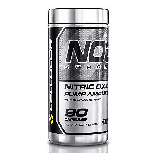 Image of the Cellucor NO3 Chrome Nitric Oxide Pump Amplifier, Pre Workout Pills, 90 Capsules