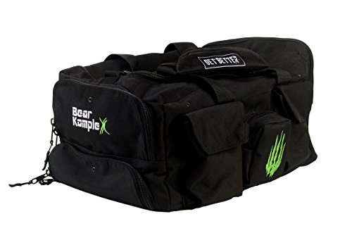 Image of the Bear KompleX gym bag Tactical Rucksack for, hunting, fitness & CrossFit. 1000D nylon duffel - Black