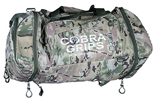 Image of the Sport Large Best Gym Duffle Travel Bag Wet Dry Storage Carry On Cobra Grips BackPack