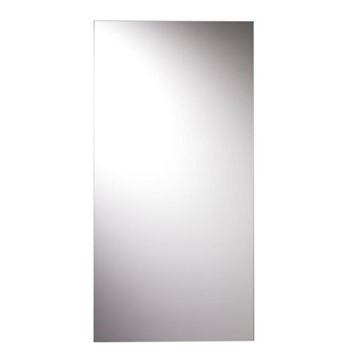 Image of the Croydex Kentmere Rectangular Wall Mirror 36-Inch x 18-Inch with Hang 'N' Lock Fitting System