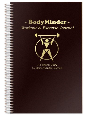 Image of the BODYMINDER Workout and Exercise Journal (A Fitness Diary)