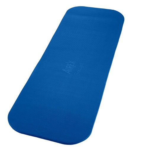 Image of the SPRI Airex Coronella Exercise Mat (Blue, 72 x 23 x 0.6-Inch)