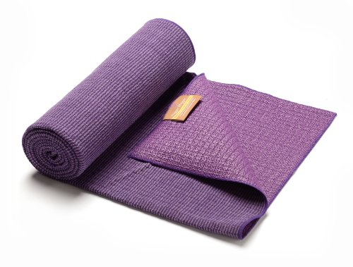 Image of the Hugger Mugger Eco Bamboo Yoga Towel, Violet