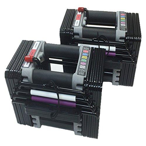 Image of the PowerBlock Elite Set Dumbell, 50-Pound (pair)