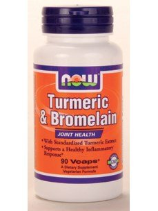 Image of the NOW Foods - Turmeric & Bromelain Joint Health - 90 Vegetarian Capsules