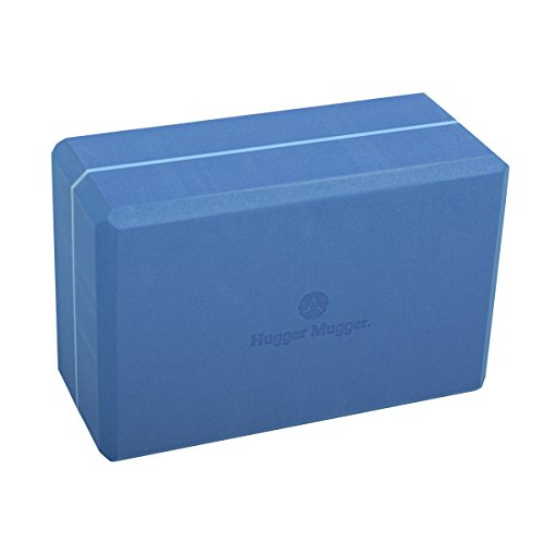 Image of the Hugger Mugger 4 in. Foam Yoga Block (Blue)