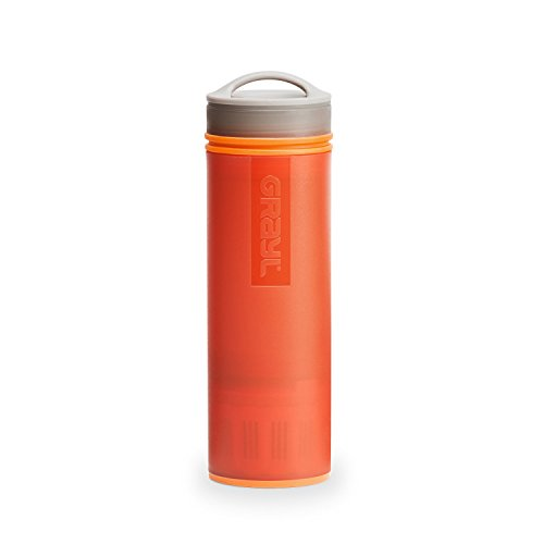Image of the GRAYL Ultralight Water Purifier [+ Filter] Bottle (Orange)