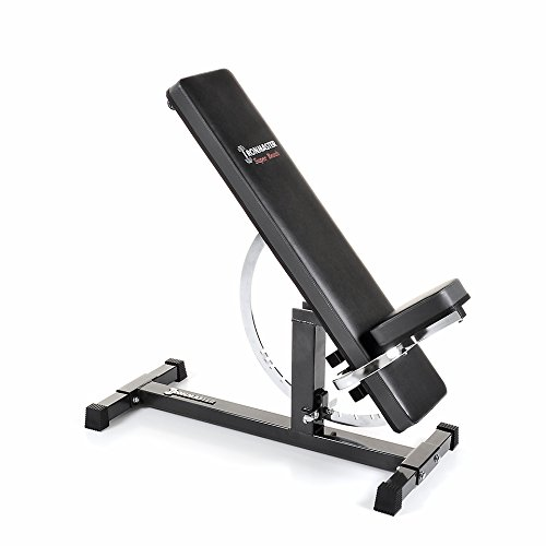 Image of the Ironmaster Super Bench Adjustable weight-lifting Bench